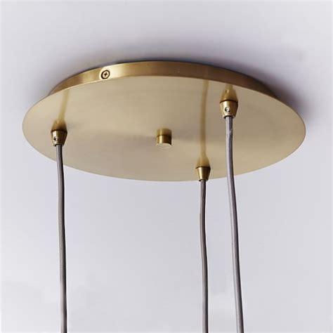 mid century pendant lights mid century glass pendant west elm