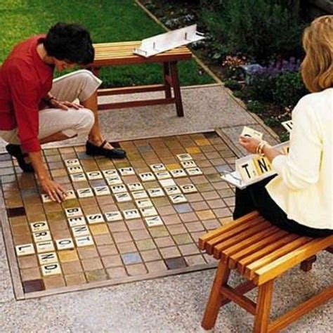 tye scrabble outdoor scrabble board outdoor living
