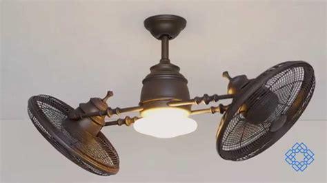 vintage ceiling fan with light minka aire vintage gyro ceiling fan bellacor