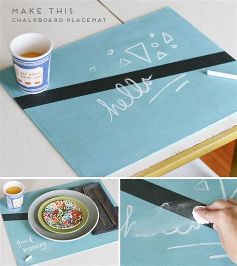 diy chalkboard materials 17 best ideas about placemat diy on table