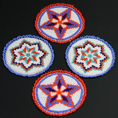 indian beading american indian beaded matching rosettes from