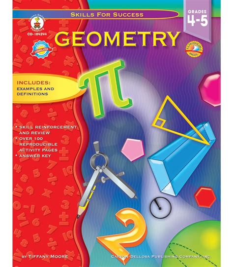 geometry picture books geometry resource book grade 4 5 carson dellosa publishing