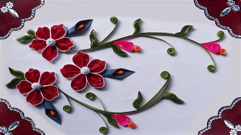 how to make paper quilling greeting cards quill paper how to make quilling greeting card