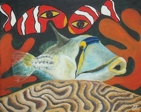 picasso paintings fish picasso fish painting by katerina pyatakova
