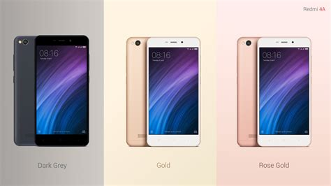 xiaomi redmi 4a xiaomi redmi 4a launched in india at rs 5 999 with 4g