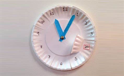 paper plate clock craft 12 innovative paper plate crafts diy home things