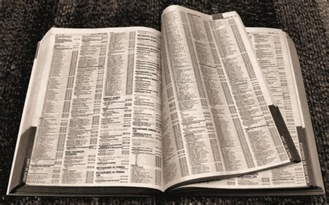 phone book pictures phone book friend or foe earth911
