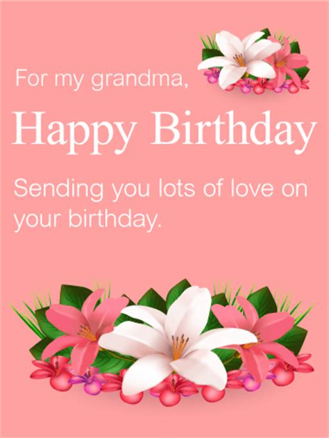 how to make a birthday card for grandmother birthday cards for grandmother birthday greeting cards