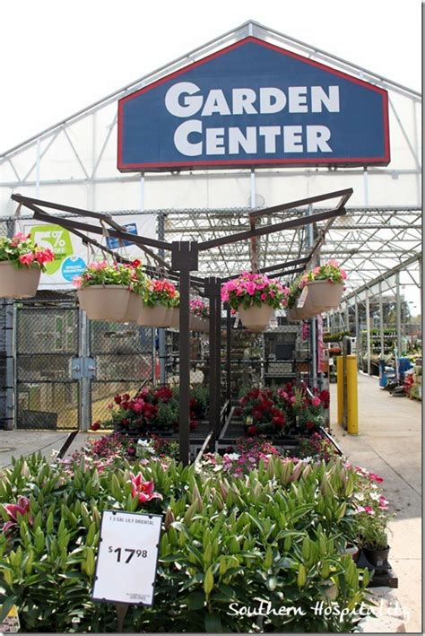 lowes garden center flowers birdbath and chimes southern hospitality