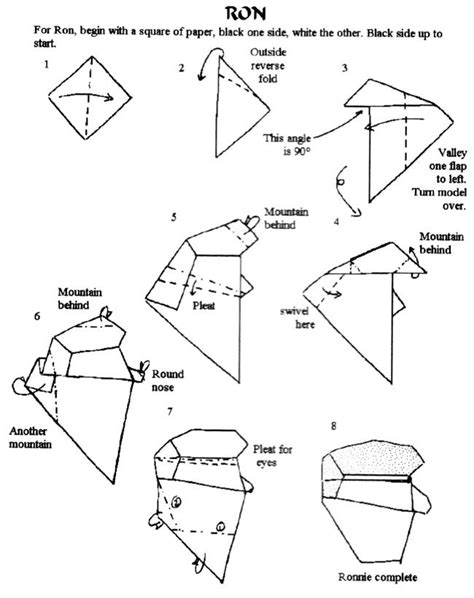 origami banger free coloring pages origami by tony o hare