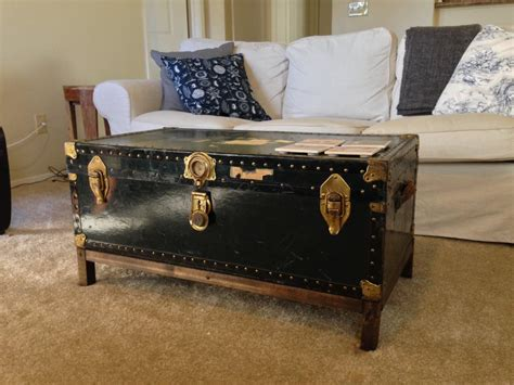 trunk for coffee table vintage trunk coffee table coffee table design ideas