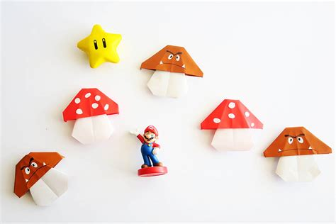 origami mario easy mario origami all for the boys