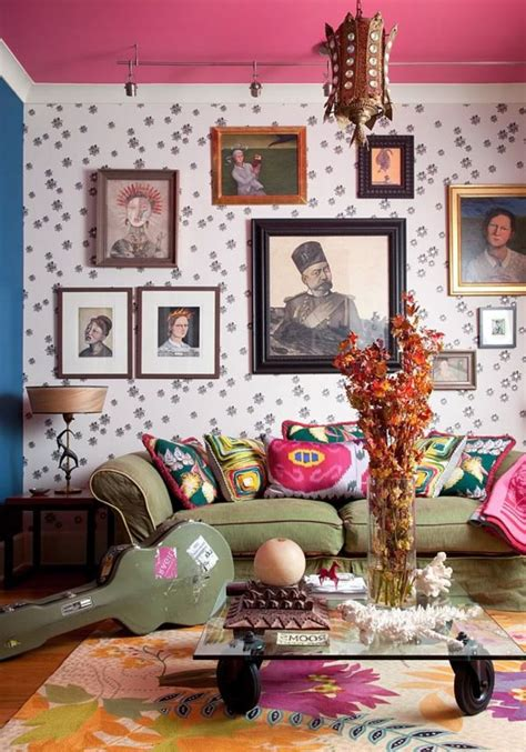 bohemian style decor living room furniture ideas for any style of d 233 cor