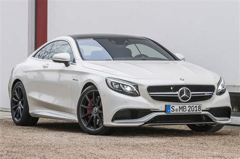 2015 Mercedes S63 by 2015 Mercedes S63 Amg 4matic Coupe Front Side View