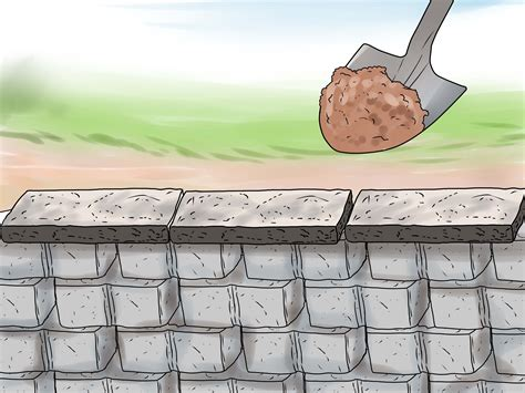 how to build a garden retaining wall how to build a retaining wall with pictures wikihow