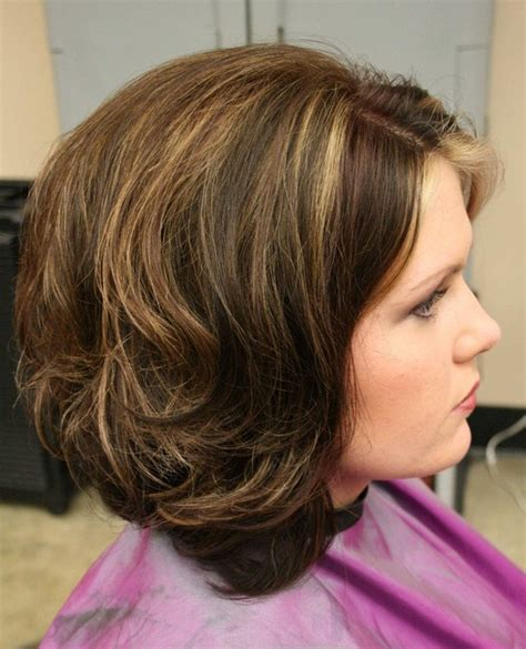 stacked bob haircut pictures curly hair long layered stacked bob haircut for curly wavy hair