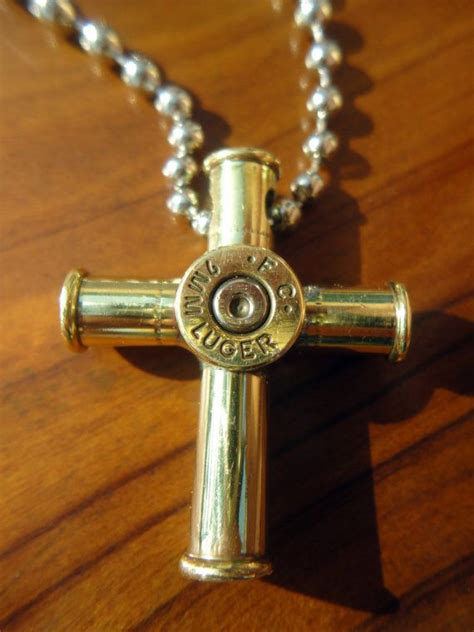 how to make jewelry from bullet casings bullet casing cross pendant necklace small