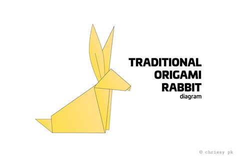 ancient origami traditional origami rabbit