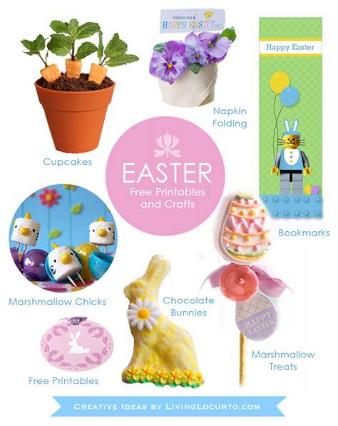printable easter crafts for 25 diy easter crafts desserts free printables