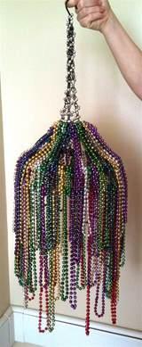 hanging basket chandelier mardi gra chandelier from diy it s a hanging basket