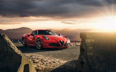 Classic Car Wallpaper 1600 X 900 Hd Picture by 2015 Alfa Romeo 4c Launch Edition Wallpaper Hd Car