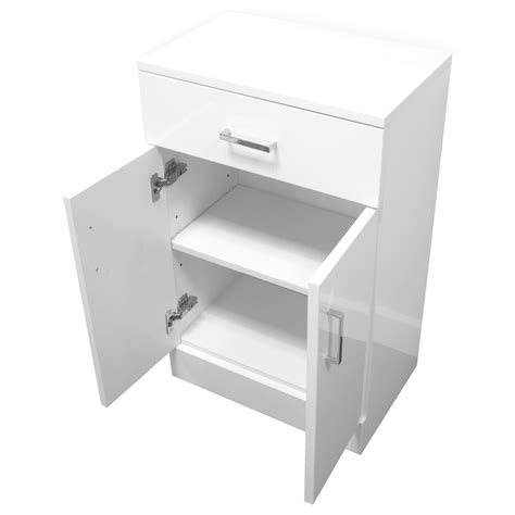 Gloss White Bathroom Cabinets by Buy High Gloss White Quot Salerno Quot Bathroom Cabinet W Soft