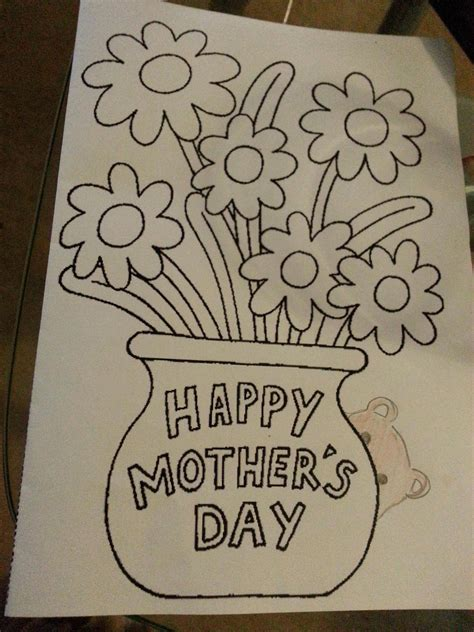make your own mothers day card i work in a bookshop and we ve put out make your own