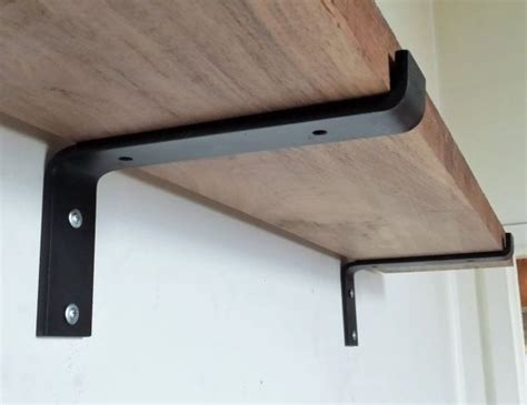 metal brackets for shelves 17 best ideas about shelf brackets on shelves