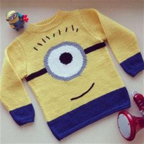 minion jumper knitting pattern 1000 ideas about minion pattern on crochet