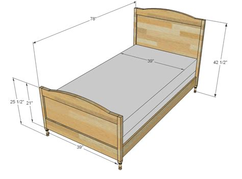 what are the dimensions of a bed bed size hometuitionkajang