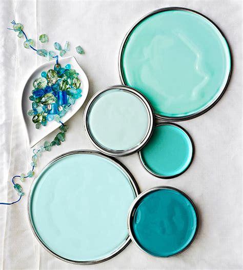 paint colors aqua got the quot blues quot decorating your small space