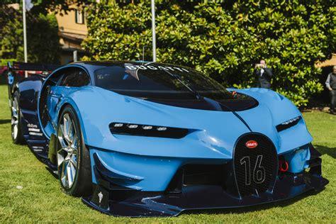 2016 Bugatti Vision by Villa D Este 2016 Bugatti Vision Gran Turismo