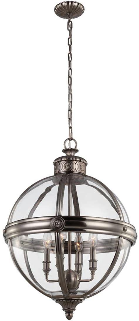 globe pendant chandelier feiss 4 light globe pendant chandelier lantern