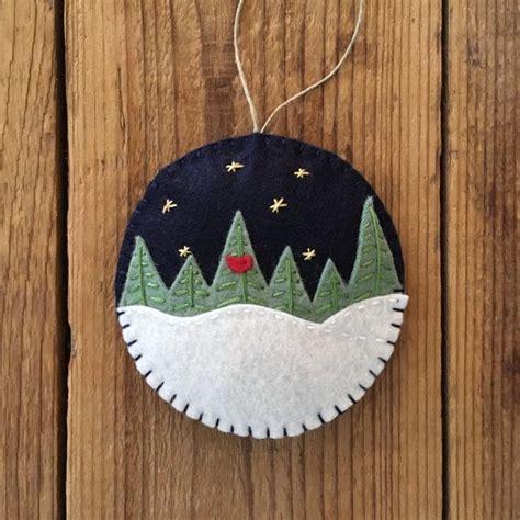 wool felt ornaments best 25 felt ornaments ideas on