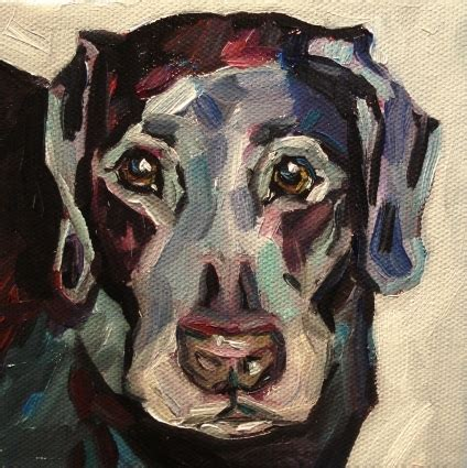 picasso paintings of dogs picasso 5x5 pet portrait on canvas original painting