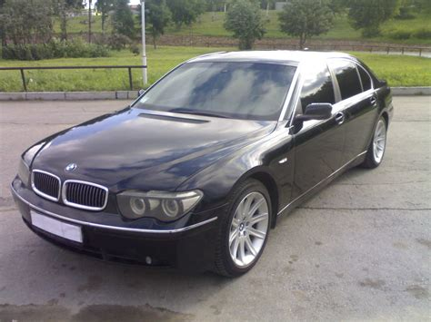 2003 Bmw 7 Series by 2003 Bmw 7 Series Pictures 4 4l Gasoline Fr Or Rr