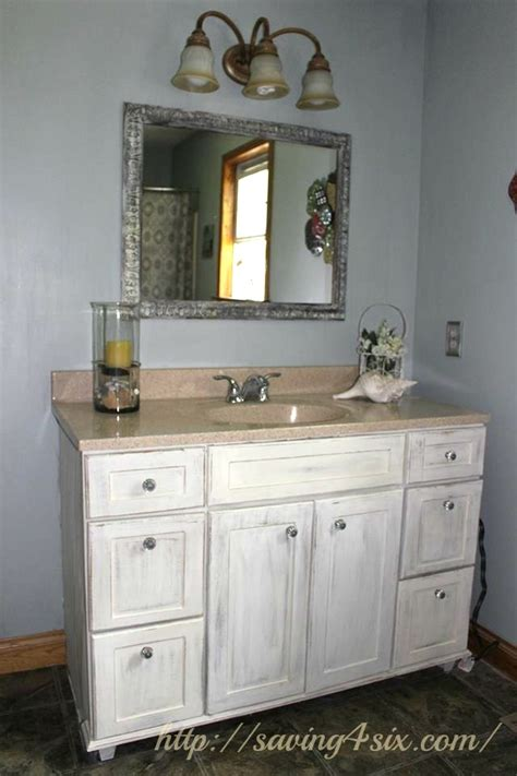 chalk paint for bathroom cabinets bathroom vanity makeover with sloan chalkpaint