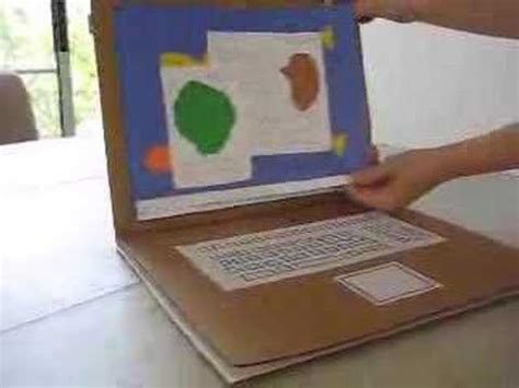 how to make cards on the computer cardboard electronics