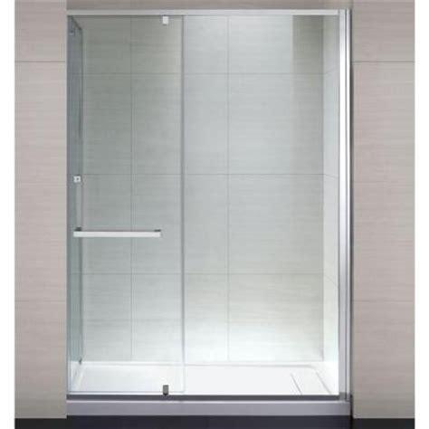 home depot glass shower doors schon 60 in x 79 in semi framed shower