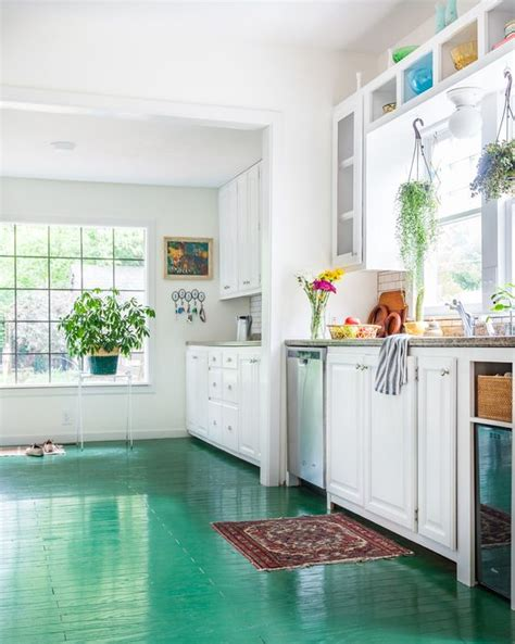 painted kitchen floor ideas creating a unique painted floor decorology