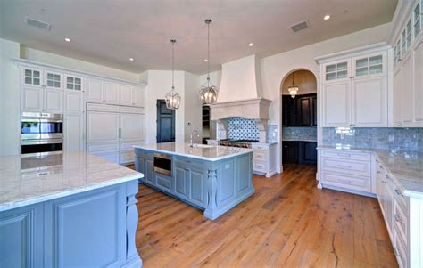 kitchen designing ideas 25 blue and white kitchens design ideas designing idea