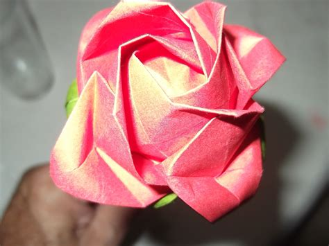 rosa de origami rosa de origami festas origamidau elo7