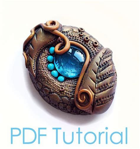 clay jewelry ideas you to see polymer clay brooch tutorial antique le