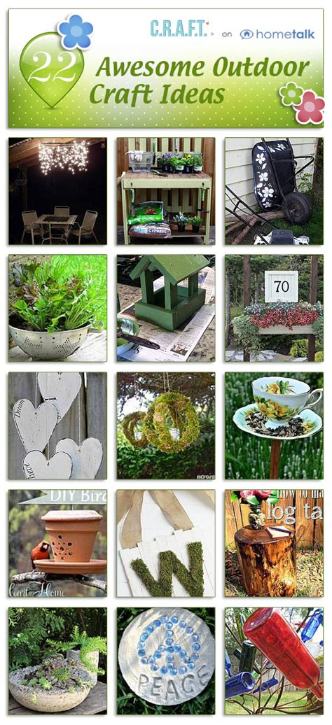 outdoor craft projects outdoor craft ideas c r a f t