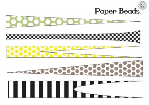 paper bead patterns paper the singing tree