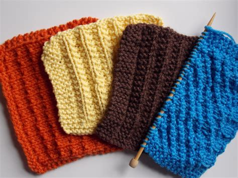 knitted dishcloths knitting quiver of blessings