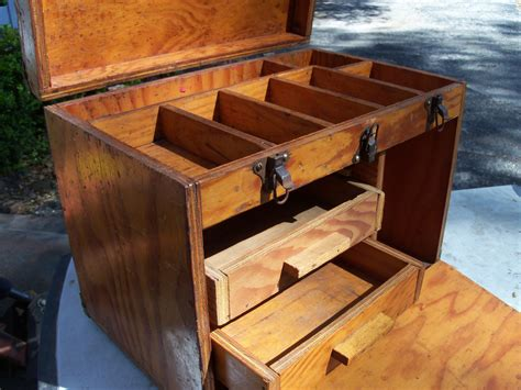 woodwork forum rustic wooden tool box handmade tool chest this would