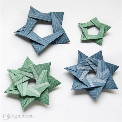 flat origami designs origami from silver rectangles by sinayskaya