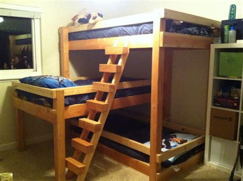 3 bunk beds simple 3 bunk beds with stairs 3 bunk beds with
