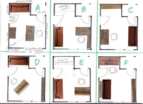 home office furniture layout which home office layout